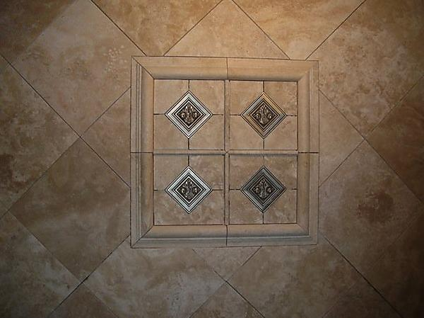 tile shower border tile but what do you think about that border running over the - Shower Wall Tile Design