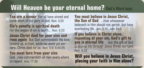 Christian PKL: Salvation Message