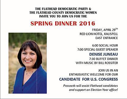 Spring Fundraising Dinner 2016 Invite
