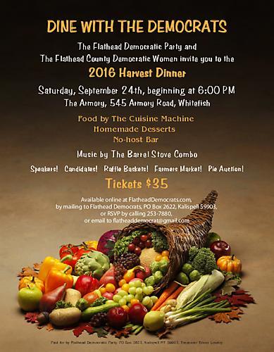 Harvest Dinner Invitation
