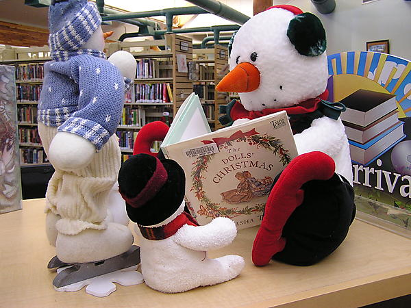 A Snowman reading for story time