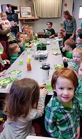 St Patrick8217s Day storytime filled with leprechauns soda bread 38 more8212