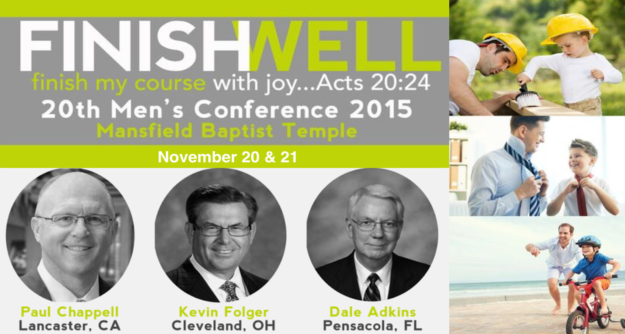 Mens Conference 2015