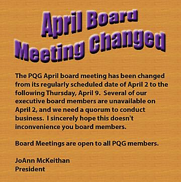 2015 April Board Meeting Changed