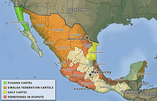 mexicocartelmap