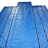 Lumber Tarp 18 oz BLUE — 26' x 24' with 8' Drop