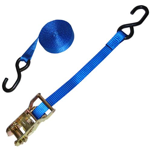 "1"" Custom Ratchet Strap with S-Hooks 3,000"