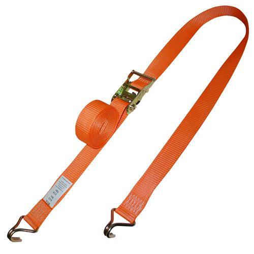 "2"" Logistic Ratchet Strap with Wire Hooks"