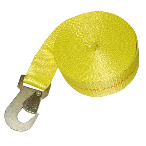 """2"""" Winch Strap with Flat Snap Hook"""