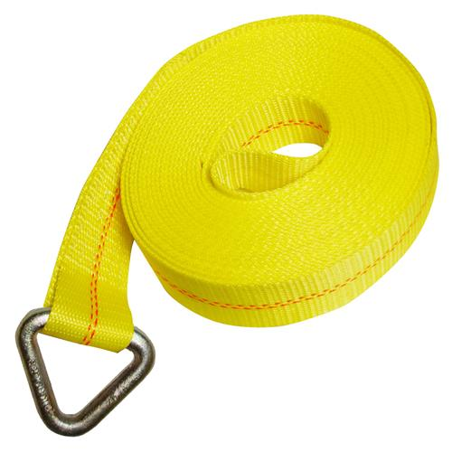 "2"" Winch Strap with Rounded Delta Ring"