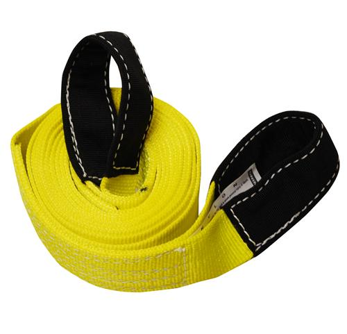 "2"" 1-Ply Nylon Recovery Tow Strap with 8"" Cordura Eyes"