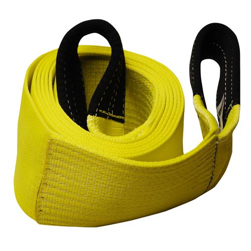 "6"" 1-Ply Nylon Recovery Tow Strap with 10"" Cordura Eyes"