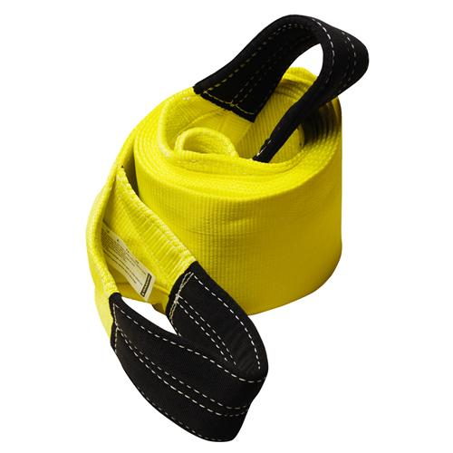 "8"" 1-Ply Nylon Recovery Tow Strap with 12"" Cordura Eyes"