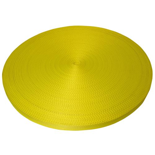 "1"" Yellow Polyester Webbing 6,600 lb"