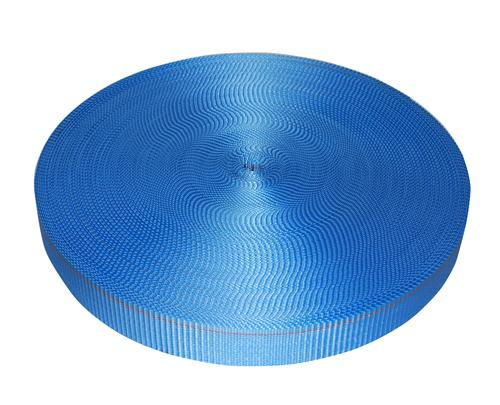 "2"" Blue Polyester Webbing 6,000 lb"