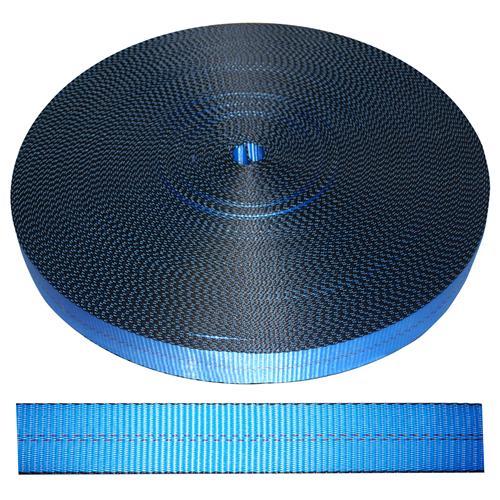"2"" Blue Polyester Webbing 12,000 lb"