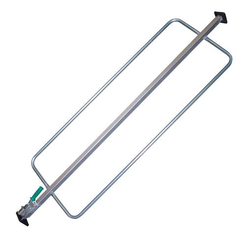 Square Jack Bar w/Bolt-on 4x4 Feet & Hoops