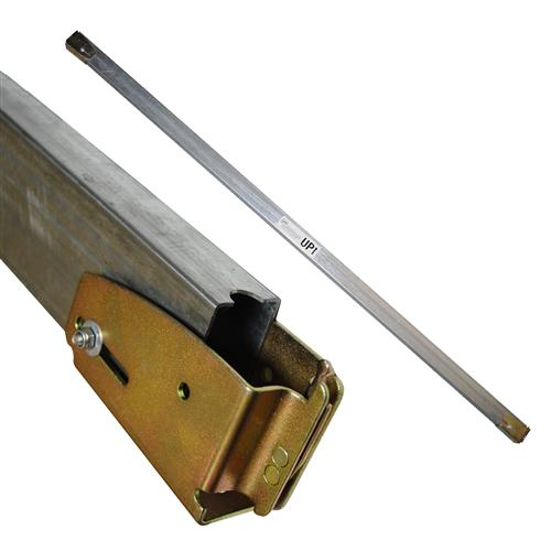 Decking E-Track Steel Beam with Long Wood Beam Socket End
