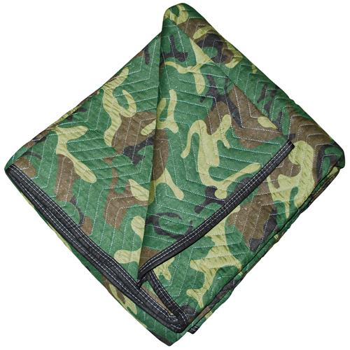 DOZEN CAMO Moving Blankets 72x80