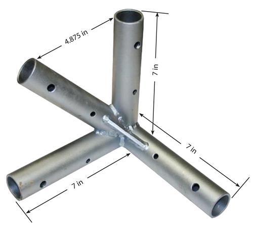 Corner Tent Frame Fitting