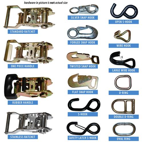 "1"" Build Your Own Tent Strap"
