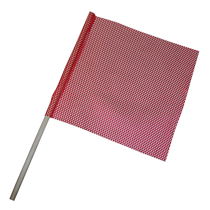 "Safety Flag with Dowel - 18"" x 18"""