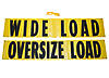 "14"" x 72"" Oversize / Wide Load Sign with Ropes"