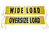 "18"" x 84"" Oversize / Wide Load Sign with Ropes"