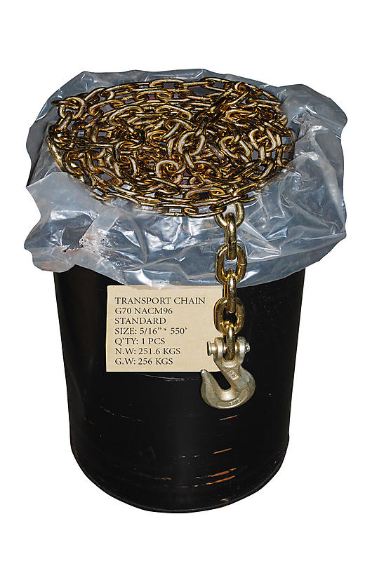 "5/16"" G70 Transport Chain Drum"