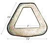 """2"""" Flat Delta Ring"""