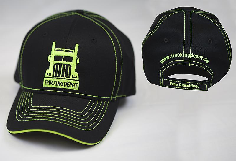 Trucking Depot Hat Black