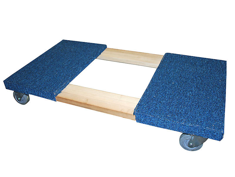 "Carpeted Moving Dolly 38"" x 20"""