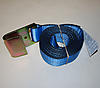 """2"""" x 10' BLUE Winch Strap with Flat Hook"""