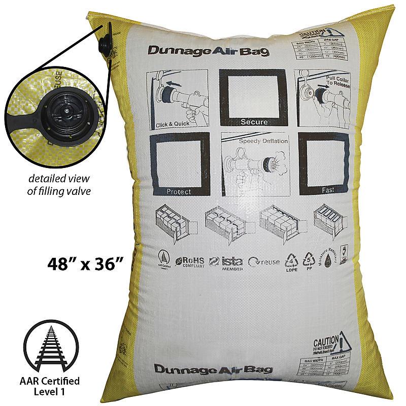 "Dunnage Air Bag 48"" x 36"""