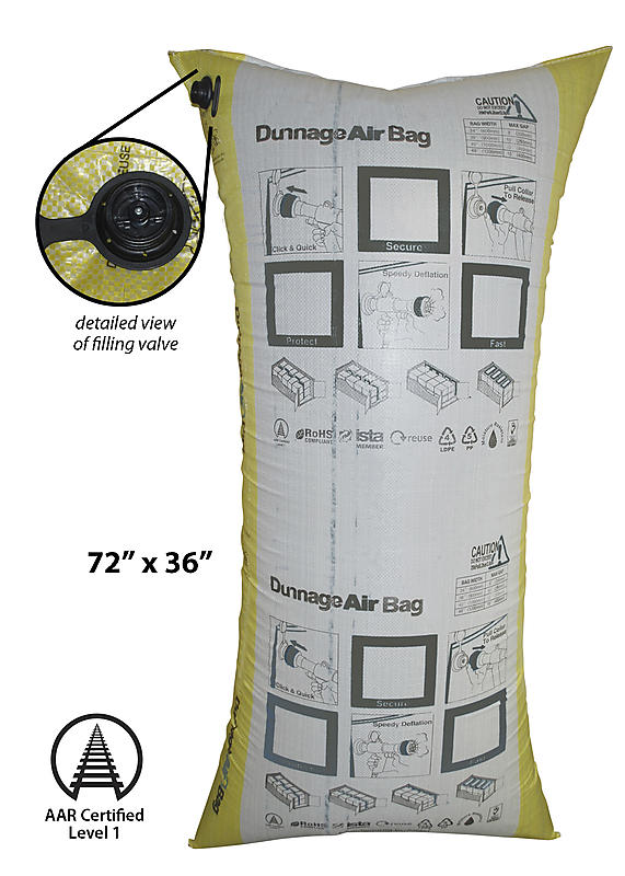 "Dunnage Air Bag 72"" x 36"""