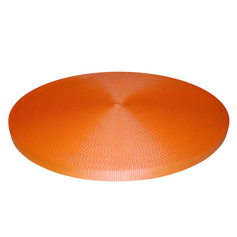 "1"" Orange Polyester Webbing 6,600 lb"