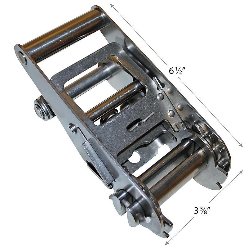 "2"" Standard Handle STAINLESS Steel Ratchet"