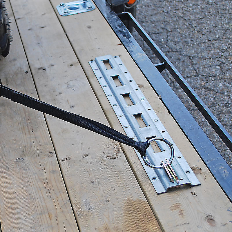 Vertical E Track for Cargo Securement