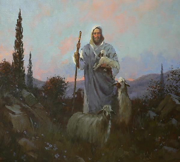 paintings of jesus with children. popular paintings of Jesus