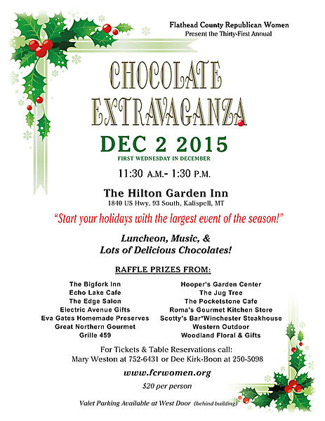 Chocolate Extravaganza 2015