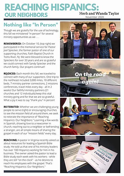 VIEW OUR MINISTRY UPDATE HERE