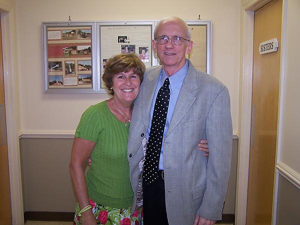 Pastor and Mrs Bob Dennis
