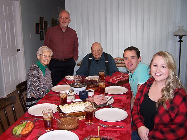 FAMILY TOGETHER FOR CHRISTMAS