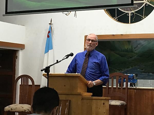 Preaching in Peru