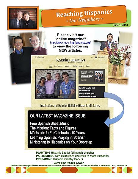 Ministry Update JUNE 1 2013