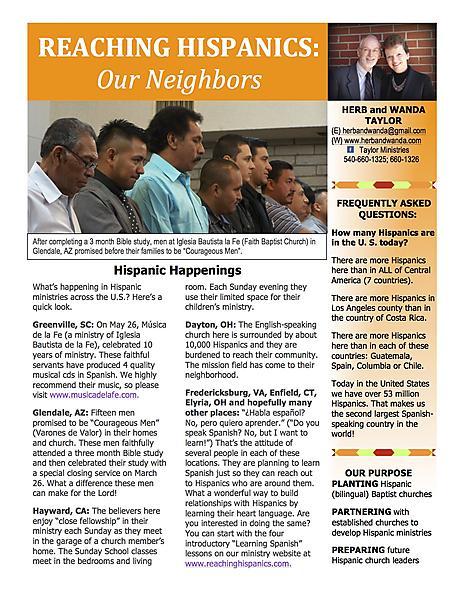 Ministry Newsletter June 23 2013