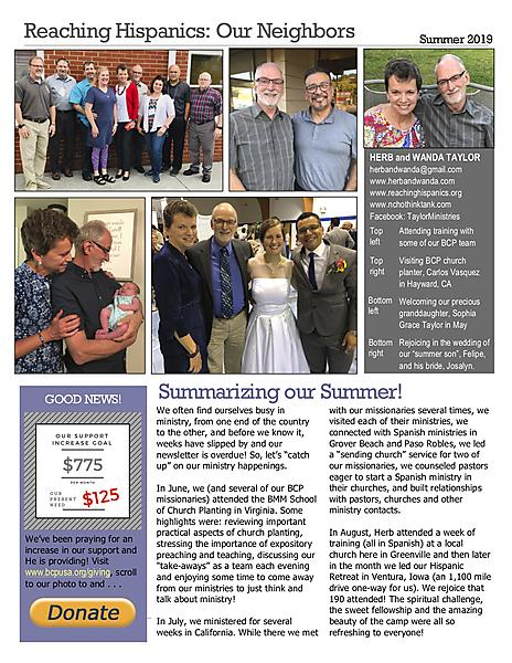 VIEW OUR NEWSLETTER HERE