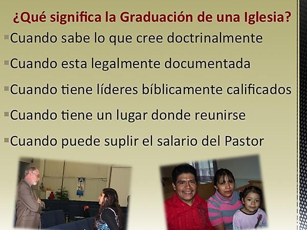 5 Steps to a Church Plant 8220Graduation8221 Spanish Version