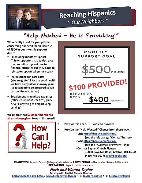 VIEW OUR 8220HELP WANTED8221 PROJECT UPDATE HERE