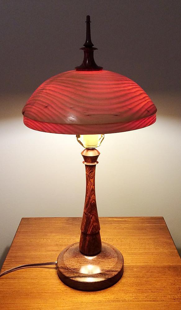 Cocobolo LAmp